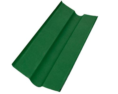 Ендова д/ондулина зеленая L-1,00м (15) РАСПРОДАЖА / УЦЕНКА