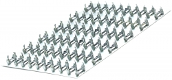 Пластина зубчатая ПЗ 1-154-140 ОЦ