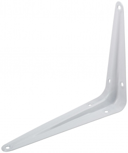 Кронштейн 125х150 пол. белый