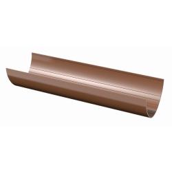 Желоб 3м. ТН ПВХ (коричневый) VERAT
