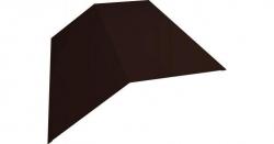 Планка конька 145х145 L-2.0м шоколад