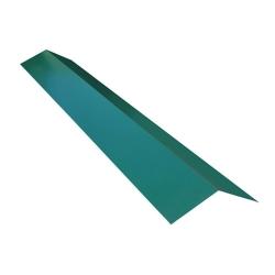 Планка конька 195х195 L-2.0м зел. мох