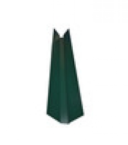 Ендова декор. 150х150 L-2.0м зел. мох