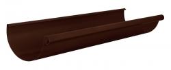 Желоб водосточ. 125 L-1.25м шоколад