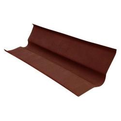 Ендова д/ондулина коричневая L-1,00м (15)