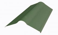 Коньковый элемент д/ондулина зеленый L-1,00м (15)