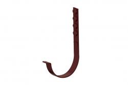 Крепление желоба верт.60(ук) д. 125мм шоколад