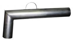 Труба самоварная диам.73мм(90 град)