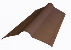 Коньковый элемент д/ондулина коричневый L-1,00м (15)