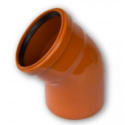 Отвод пласт. 160х15 (нар.)
