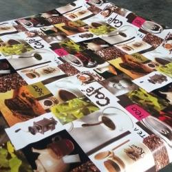 Клеенка  стол  Сильвано 1,4*20м Кофе