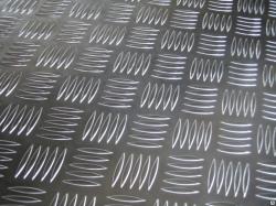 Лист алюминиевый рифленый Квинтет 600*1200*1,5 (Лкв 03.05.00)