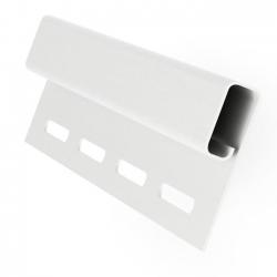 Профиль- J д/сайдинга белый  3,00 GRAND LINE