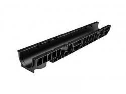Лоток 100.95 h99 пластиковый (черный) Ecotek-Стандарт