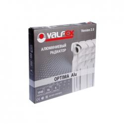 "Радиатор алюм.  8 секций 500/ 80 ""VALFEX OPTIMA"""