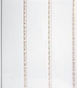 """Панель ПВХ  0,24х3,0м 3-х секцион. """"Кантри Серебро Starline+"""