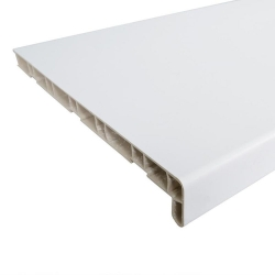 Подоконник ПВХ бел. 400х3,0м