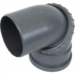 Отвод пласт. 110 поворотный