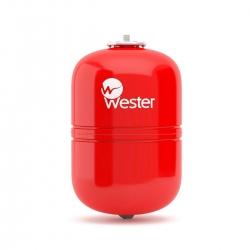 Бак мембранный WESTER для отопления  8л (красный)
