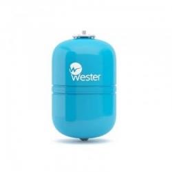 Бак мембранный WESTER 12л (синий)