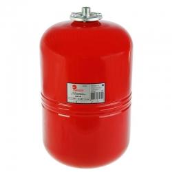 Бак мембранный WESTER для отопления 24л (красный)