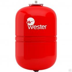 Бак мембранный WESTER для отопления 18л (красный)