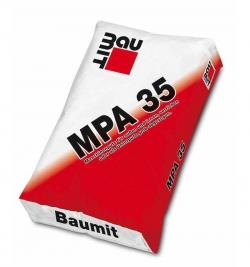 Смесь штукатурная МРА35 Fine 25кг Baumit
