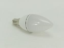 Лампа светодиодная Е14  5Вт свеча 4000К 400Лм ASD