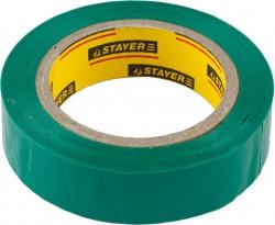 Изолента ПВХ зеленая 15ммх10м Stayer