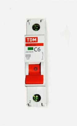 Авт. выкл. ВА47-29 1Р  6А TDM