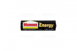 """Батарейка алкалиновая """"Момент Energy"""", т ААА 4шт"""