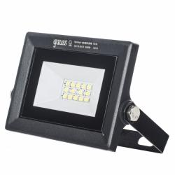 Прожектор светодиод. ДО-10w 6500К 780Лм IP65 черный Gauss