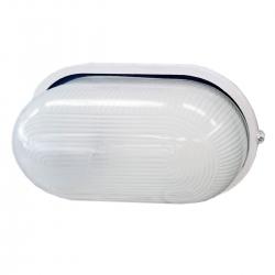 Светильник НПП 100Вт Овал  белый (НПП1201)