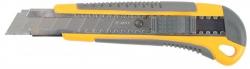 Нож пистолетный с выдв. лезвием ,  18мм пласт. STAYER STANDARD