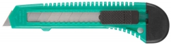Нож пистолетный с сегм. лезвием , 18мм пласт.DEXX