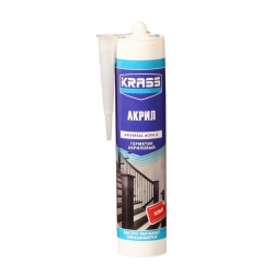 Герметик акриловый белый KRASS 300мл