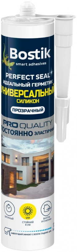 Герметик сил. б/цв универс. Perfect Seal 280мл