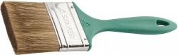 """Кисть пл.  STAYER """"LAZUR-STANDART""""  3""""/75мм,  смешанная (нат. и  искусств. щетина),  дерев. ручка"""