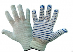 Перчатки нейлоновые с полиуретан. покрытием