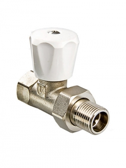 Вентиль прямой регул. (комп.) 1/2 VT08LN для радиатора