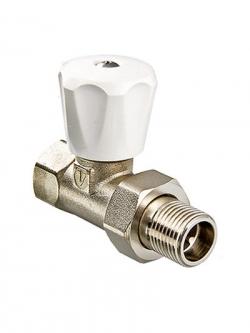 Вентиль прямой регул. 1/2 VT08 для радиатора