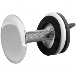 Заглушка на умывальник 50мм (хром)