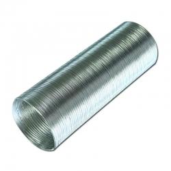 Воздуховод гибкий алюминиевый гофрир. 160мм, L до 3м ERA