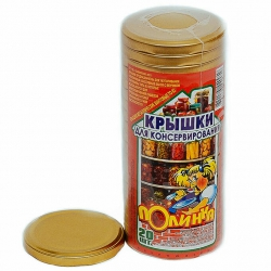 Крышка металл винт. лакиров. Полинка Твист 82 Беларусь