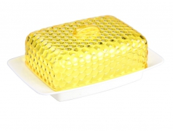 "Масленка ""Мозайка"" бело-желт. М5568"