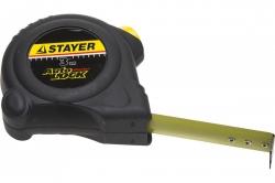 """Рулетка  3мх16мм  корпус с резиновым напылением STAYER""""AUTOLOCK"""""""