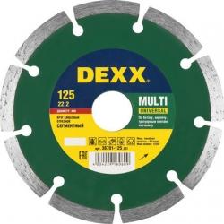 """Диск отрезной """"DEXX"""" 125х7х22,2мм универ."""