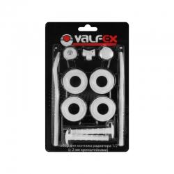 Комплект заглушек VALFEX  1/2+2 кронш. для радиатора