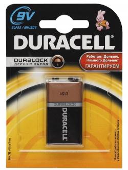 Батарейка Duracell 6LR61-1BL/ 6LF22-1BL (10/6160)