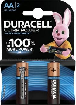 Батарейка Duracell LR6-2BL Ultra Power (2/40/16720)